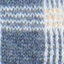 Sylvia Cowl Neck, Grey Heather Plaid, swatch