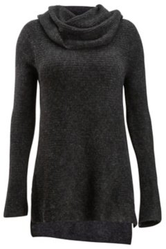 Pontedera Cowl Neck, Charcoal Heather, medium