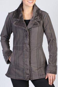 Persian Print Coat, Slate, medium