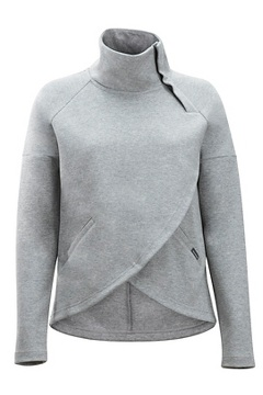 Manzanita Pullover, Grey Heather, medium