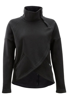Manzanita Pullover, Black, medium