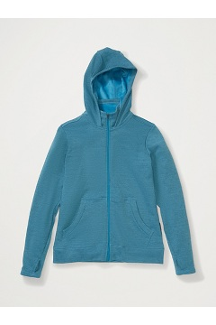 Women's Kalmai Hoody, Atlantic Heather, medium