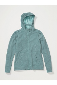 Women's Kalmai Hoody, Trellis Heather, medium