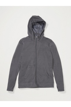 Women's Kalmai Hoody, Carbon Heather, medium