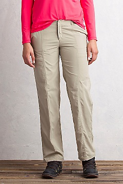 Women's Sol Cool Nomad Pants - Petite, Tawny, medium