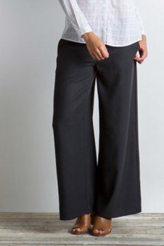 Basilica Wide-Leg Pant, Black, medium