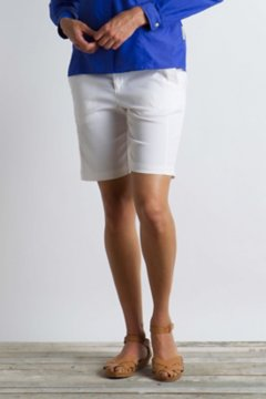 Costera Bermuda Short, White, medium