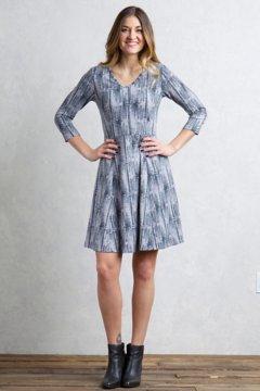 Wanderlux Sayward Dress, Carbon Print, medium