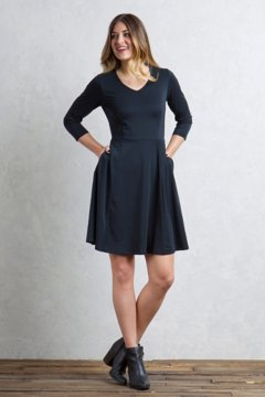 Wanderlux Sayward Dress, Black, medium
