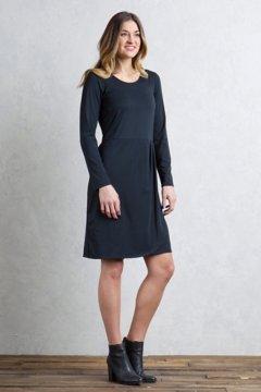 Wanderlux Tulipa Dress, Black, medium