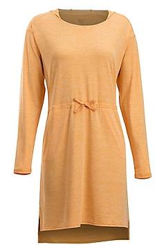 Sol Cool Kaliani Hoody Dress, Pale Pumpkin, medium