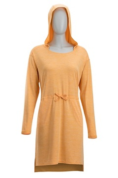 Sol Cool Kaliani Hoody Dress, Pale Pumpkin, medium