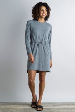 Sol Cool Kaliani Hoody Dress, Carbon Heather, medium