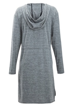 Sol Cool Kaliani Hoody Dress, Carbon, medium