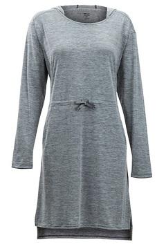 Sol Cool Kaliani Hoody Dress, Carbon, medium