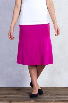 Wanderlux Convertible Skirt, Mulberry, medium