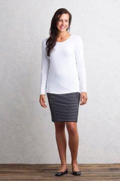 Odessa Skirt, Black/White, medium