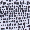 Wanderlux Reversible Print Skirt, Black/White, swatch