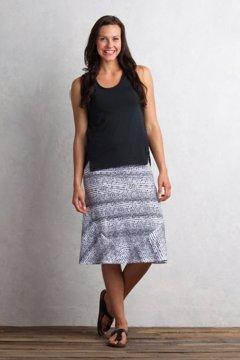 Wanderlux Convertible Print Skirt, Black/White, medium