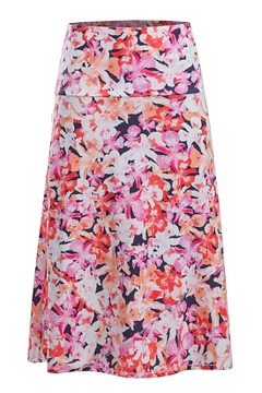 Wanderlux Convertible Skirt, Spritzer Hawaiin Floral, medium