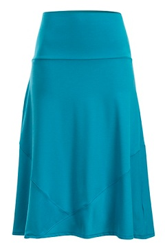 Wanderlux Convertible Skirt, Algiers Blue, medium