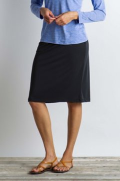Wanderlux Short Skirt, Black, medium