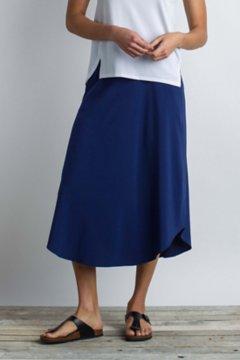Kizmet Midi Skirt, Ink, medium