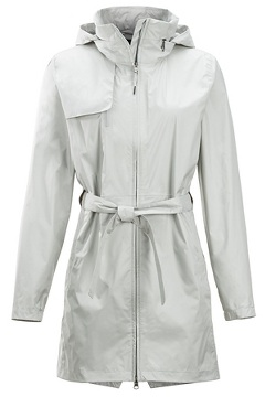 Women's Sunbury Trench, Platinum, medium