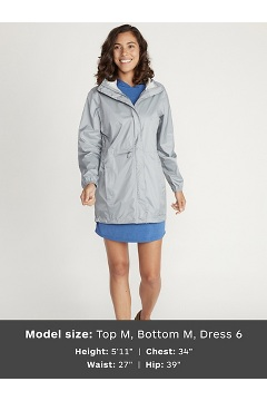 Women's Lagoa Jacket, Sleet, medium