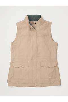 Women's FlyQ Vest, Tawny, medium