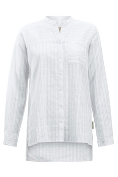 Women's BugsAway Collette Long-Sleeve Shirt, White, medium