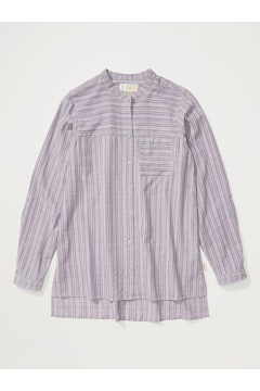 Women's BugsAway Collette Long-Sleeve Shirt, Lavender Aura, medium