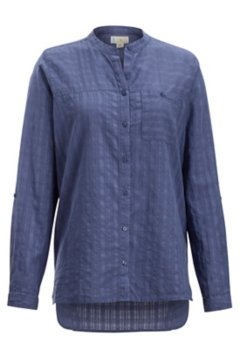 BugsAway Collette LS Shirt, Blue Heron, medium