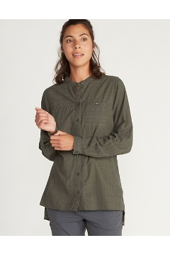 Women's BugsAway Collette Long-Sleeve Shirt, Nori, medium