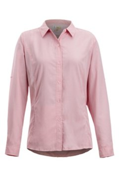 BugsAway Brisa LS Shirt, Spiced Coral, medium