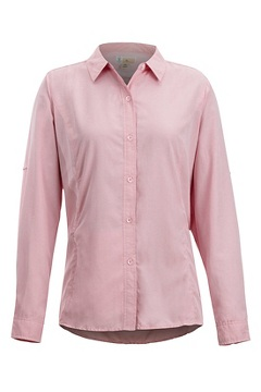BugsAway Brisa LS Shirt, Spiced Coral, medium