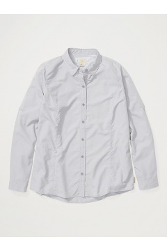 Women's BugsAway Brisa Long-Sleeve Shirt, Mulled Grape, medium