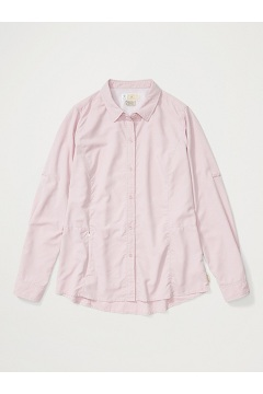 Women's BugsAway Brisa Long-Sleeve Shirt, Pink Sand, medium