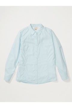 Women's BugsAway Brisa Long-Sleeve Shirt, Corydalis Blue, medium