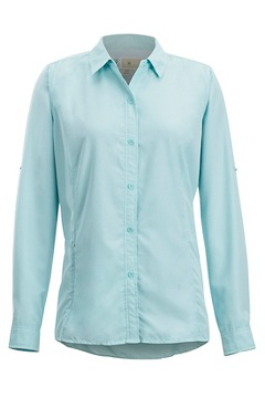 BugsAway Brisa LS Shirt, Mystic Blue, medium