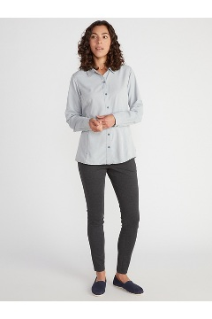 Women's BugsAway Brisa Long-Sleeve Shirt, Mulled Grape, medium
