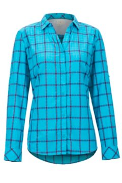 BugsAway Deia LS Shirt, Algiers Blue, medium