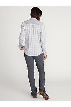 Women's BugsAway Mayfly Long-Sleeve Shirt, Lilac Grey, medium