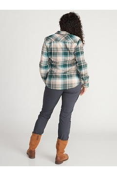 Women's BugsAway Redding Midweight Flannel Shirt, Ballet, medium