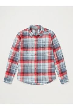Women's BugsAway Redding Midweight Flannel Shirt, Corydalis Blue, medium
