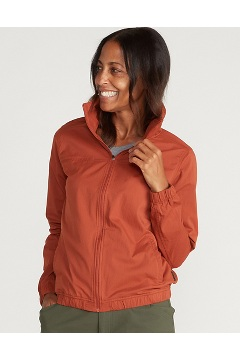 Women's BugsAway Susitna Jacket, Rust, medium