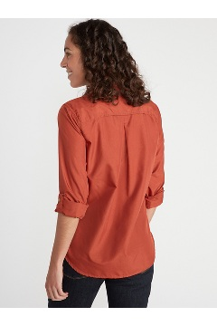Women's BugsAway Palotina Long-Sleeve Shirt, Rust, medium