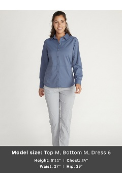 Women's BugsAway Nosara Long-Sleeve Shirt, Tawny, medium