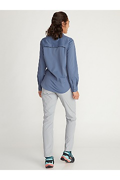 Women's BugsAway Nosara Long-Sleeve Shirt, Storm, medium