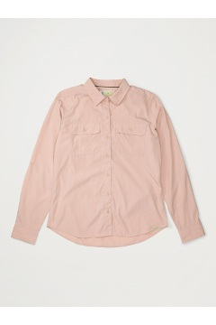 Women's BugsAway Breccia Long-Sleeve Shirt, Pink Sand, medium